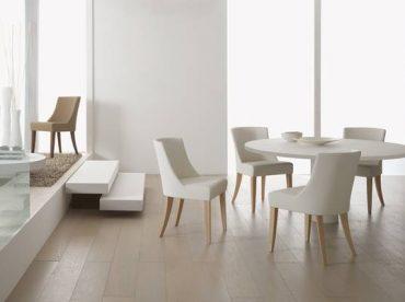 Chaises rembourrées pour salle à manger