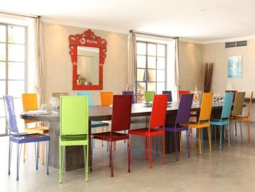Chaises salle à manger couleur