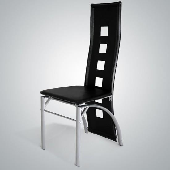 chaises dossier haut salle manger le monde de l a. Black Bedroom Furniture Sets. Home Design Ideas
