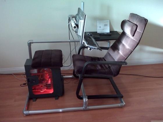 chaise pour jeux video le monde de l a. Black Bedroom Furniture Sets. Home Design Ideas