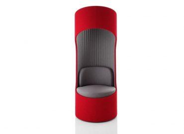 Chaise dossier haut design