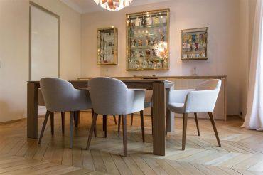 Chaise salle a manger bois clair