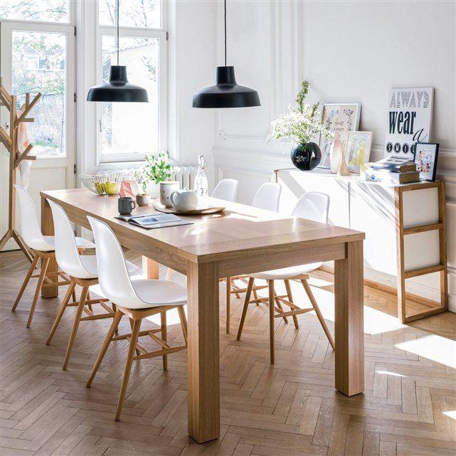 Table et chaise contemporaine - Le monde de Léa