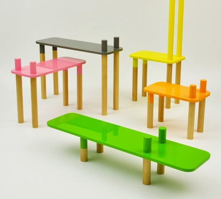 meuble design enfant le monde de l a. Black Bedroom Furniture Sets. Home Design Ideas
