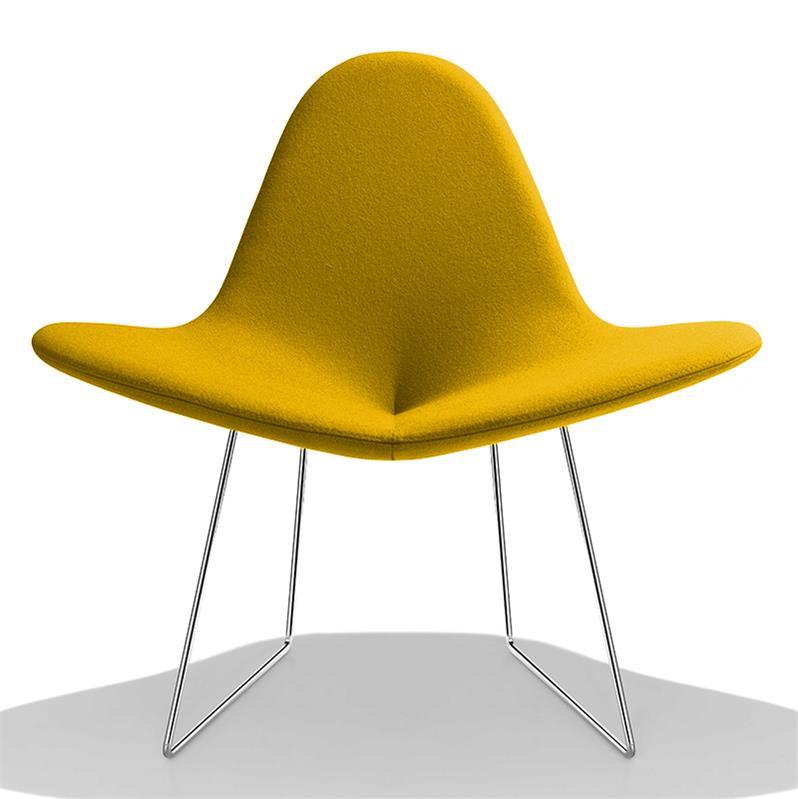 Fauteuil design pas cher le monde de lea for Fauteuil jaune pas cher