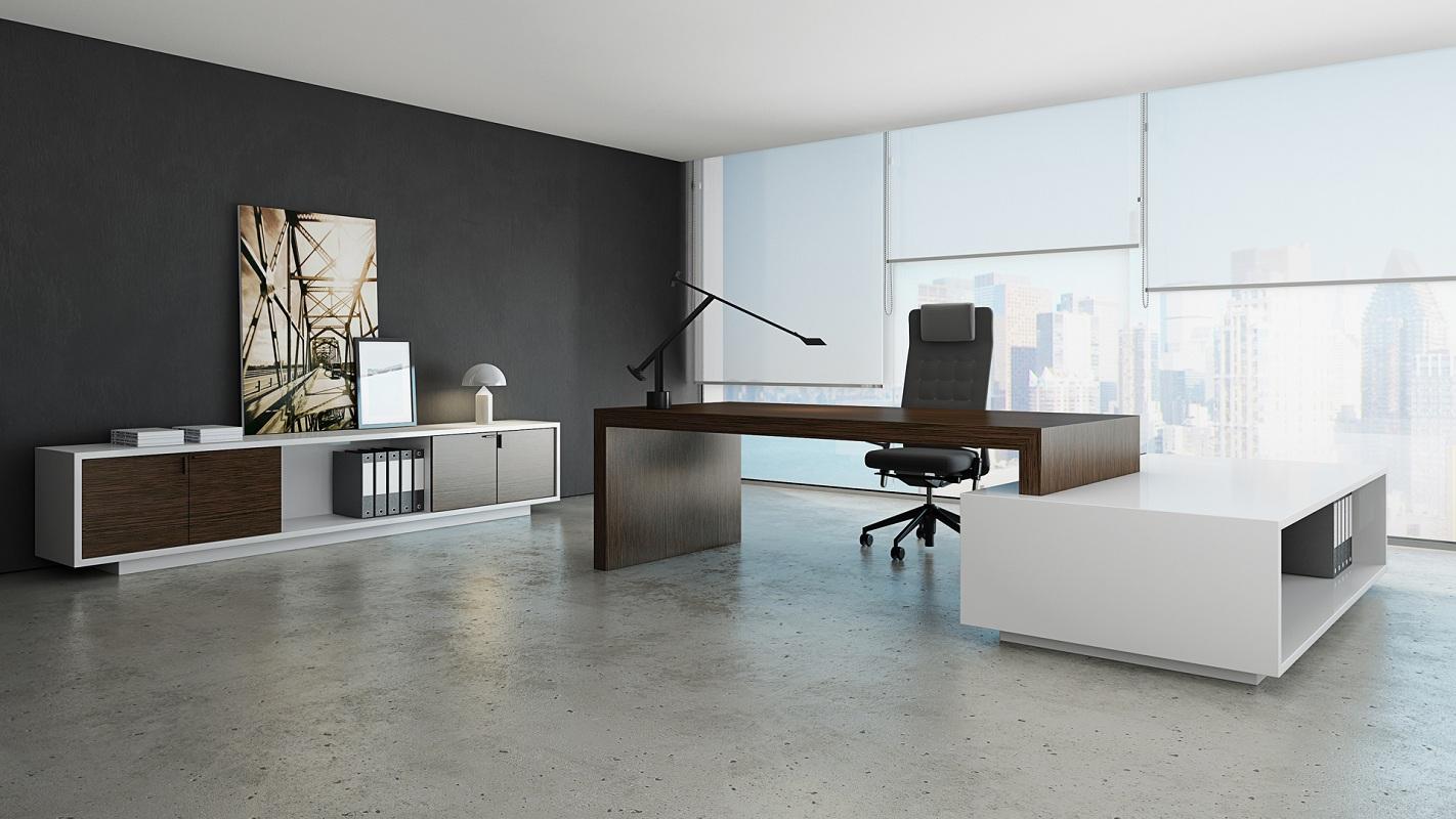 bureau design le monde de l a. Black Bedroom Furniture Sets. Home Design Ideas