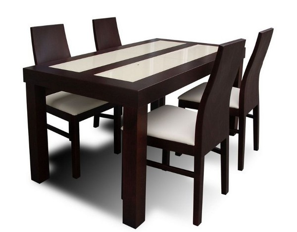 table salle a manger avec chaises maison design. Black Bedroom Furniture Sets. Home Design Ideas