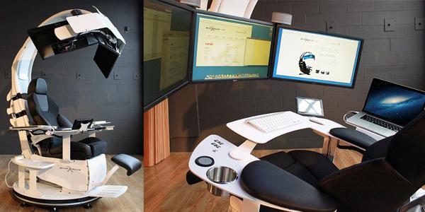 Fauteuil bureau geek le monde de l a - Fauteuil moderne honken workstation par blastation ...