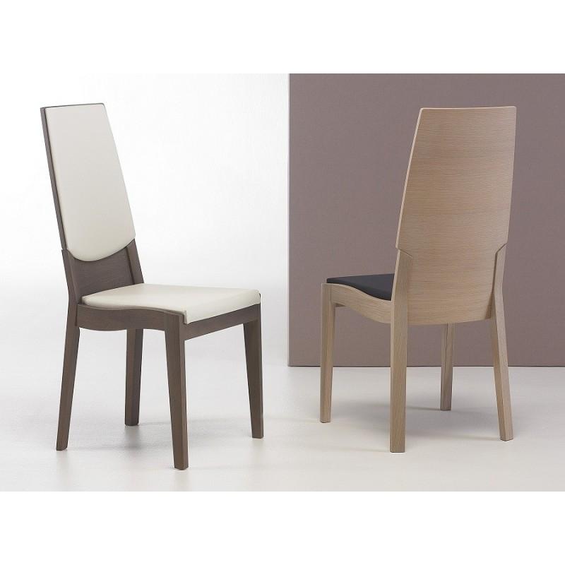 Chaise moderne pour salle a manger le monde de l a - Chaises salle manger capitonnees ...