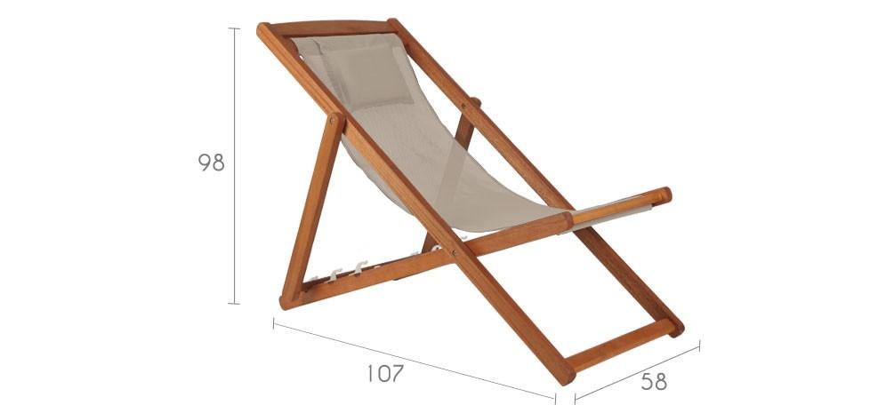 chaise longue pliante le monde de l a. Black Bedroom Furniture Sets. Home Design Ideas