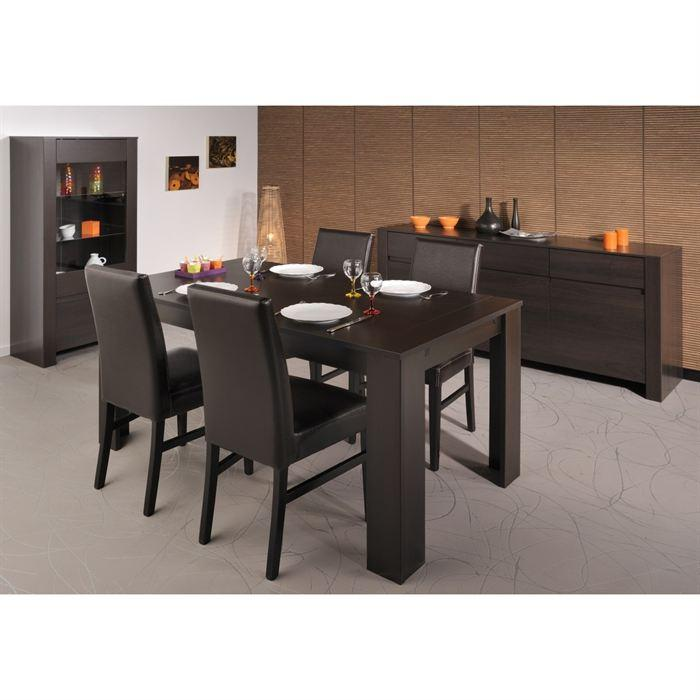 Ensemble table et chaise salle manger le monde de l a for Table de salle a manger evolutive