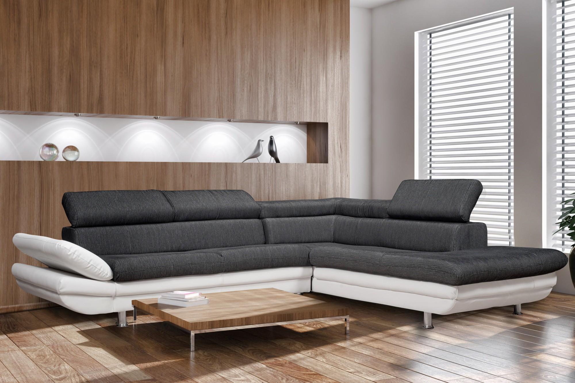 sejour design blanc le monde de l a. Black Bedroom Furniture Sets. Home Design Ideas