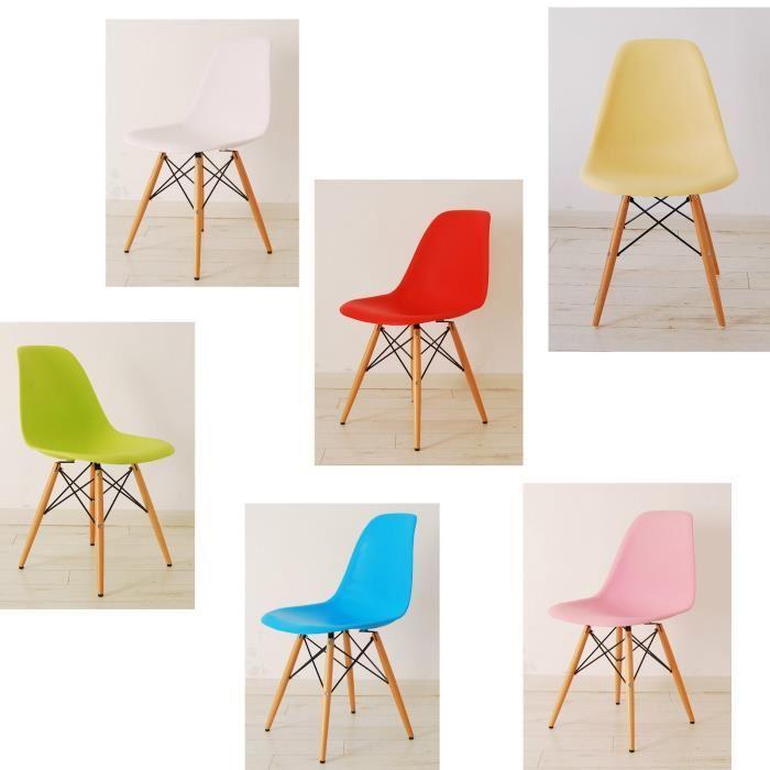 Chaise en tissu de couleur le monde de l a for Habillage de chaise en tissus