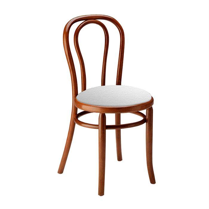 Chaise bistrot le monde de l a for Chaise de bistrot blanche