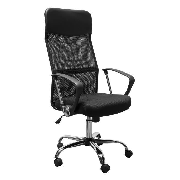 Chaise de bureau accoudoir le monde de l a for Le monde de la chaise