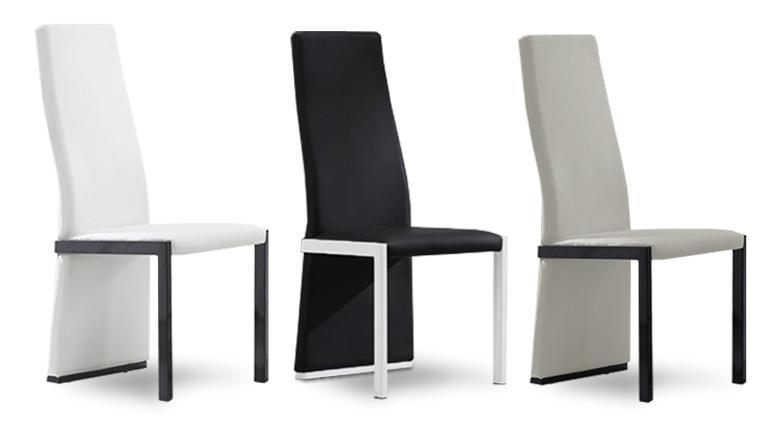 chaise design moderne le monde de l a. Black Bedroom Furniture Sets. Home Design Ideas