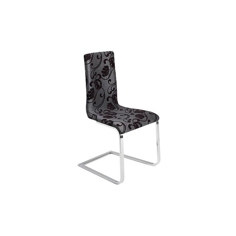 chaise en tissu de couleur le monde de l a. Black Bedroom Furniture Sets. Home Design Ideas
