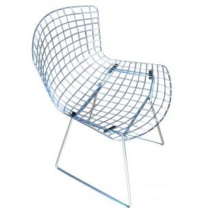 fauteuil design metal le monde de l a. Black Bedroom Furniture Sets. Home Design Ideas