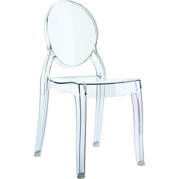 chaise plexi couleur le monde de l a. Black Bedroom Furniture Sets. Home Design Ideas