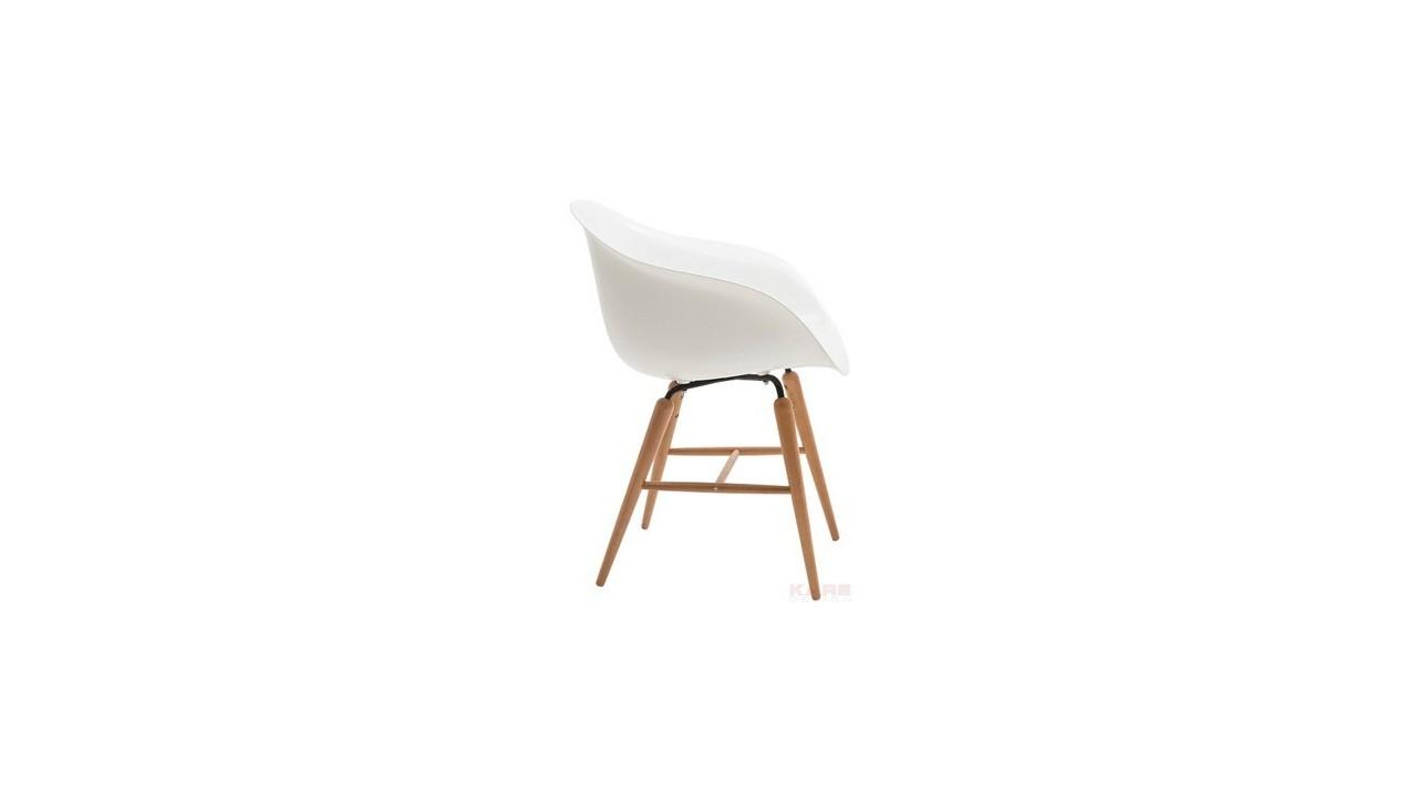 Chaise plexi et bois le monde de l a for Chaise plexi bois