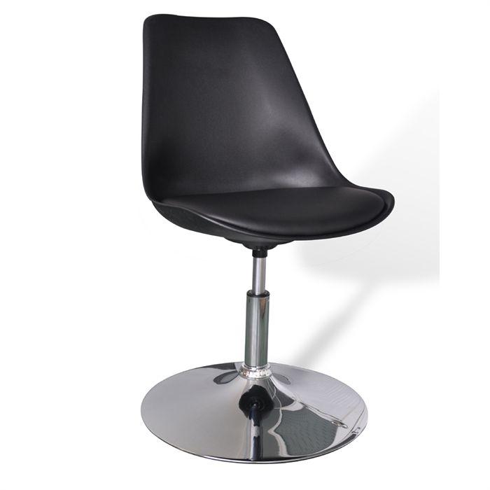chaise design pivotante le monde de l a. Black Bedroom Furniture Sets. Home Design Ideas