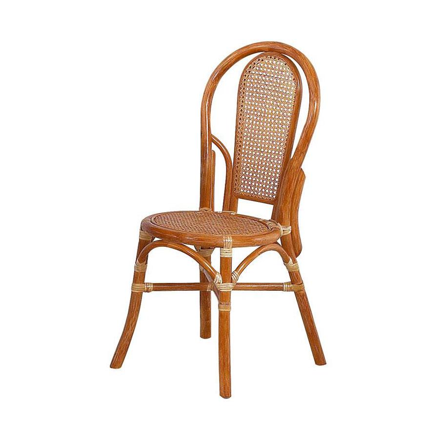 chaise en osier le monde de l a. Black Bedroom Furniture Sets. Home Design Ideas