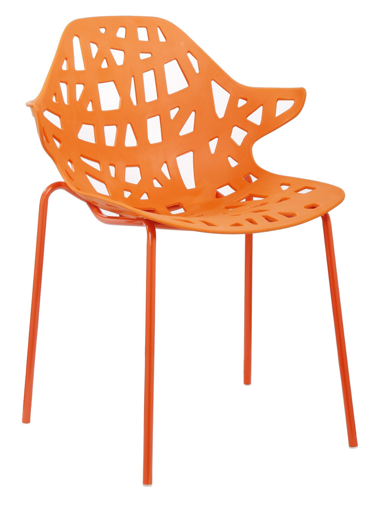 Chaise design orange le monde de l a for Tendance chaise 2017