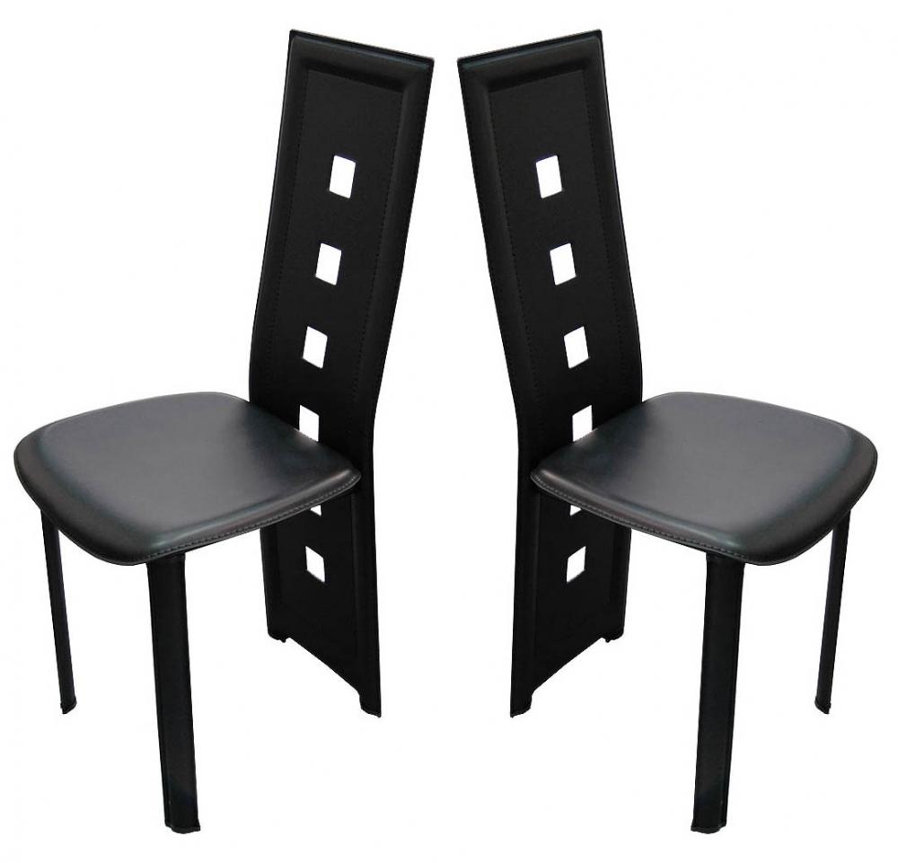 chaise haute design le monde de l a. Black Bedroom Furniture Sets. Home Design Ideas