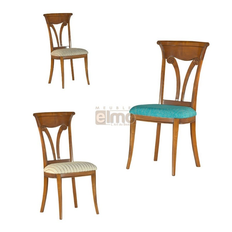 chaises classiques salle manger le monde de l a. Black Bedroom Furniture Sets. Home Design Ideas