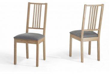 Chaise pour salle a manger en bois