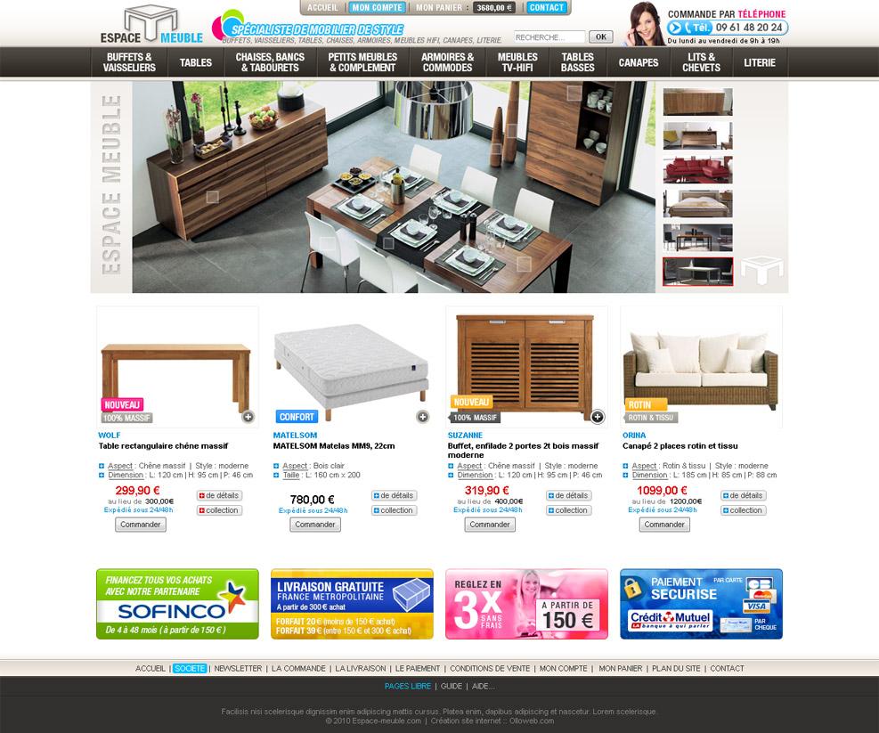 Site de mobilier le monde de l a for Site mobilier design