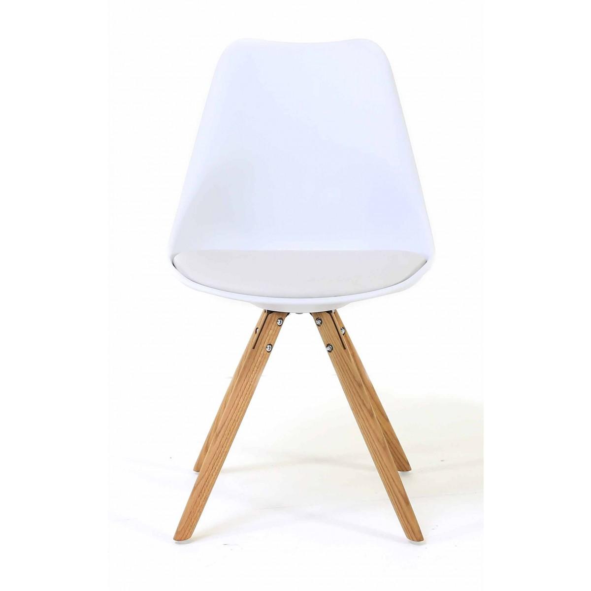 Chaise blanche le monde de l a for Le monde de la chaise