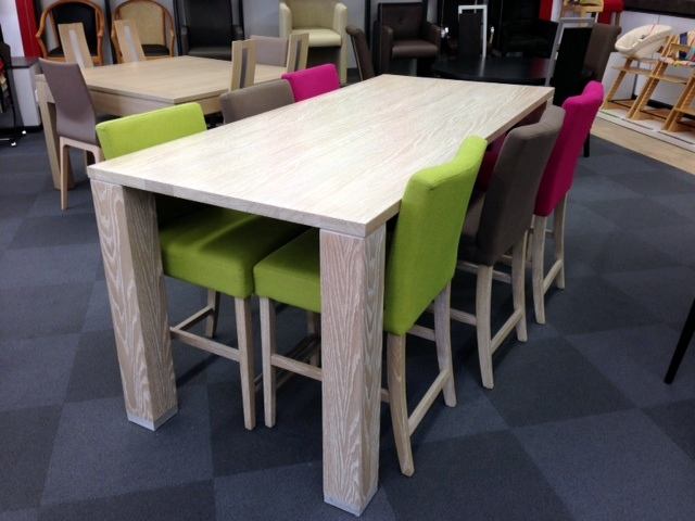 chaise salle a manger couleur le monde de l a. Black Bedroom Furniture Sets. Home Design Ideas