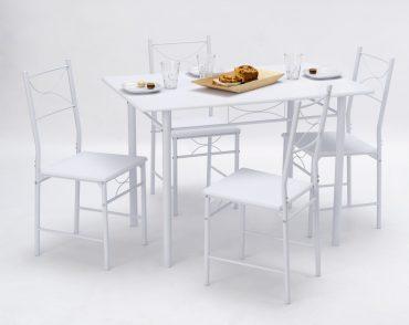 Table et chaise de cuisine moderne