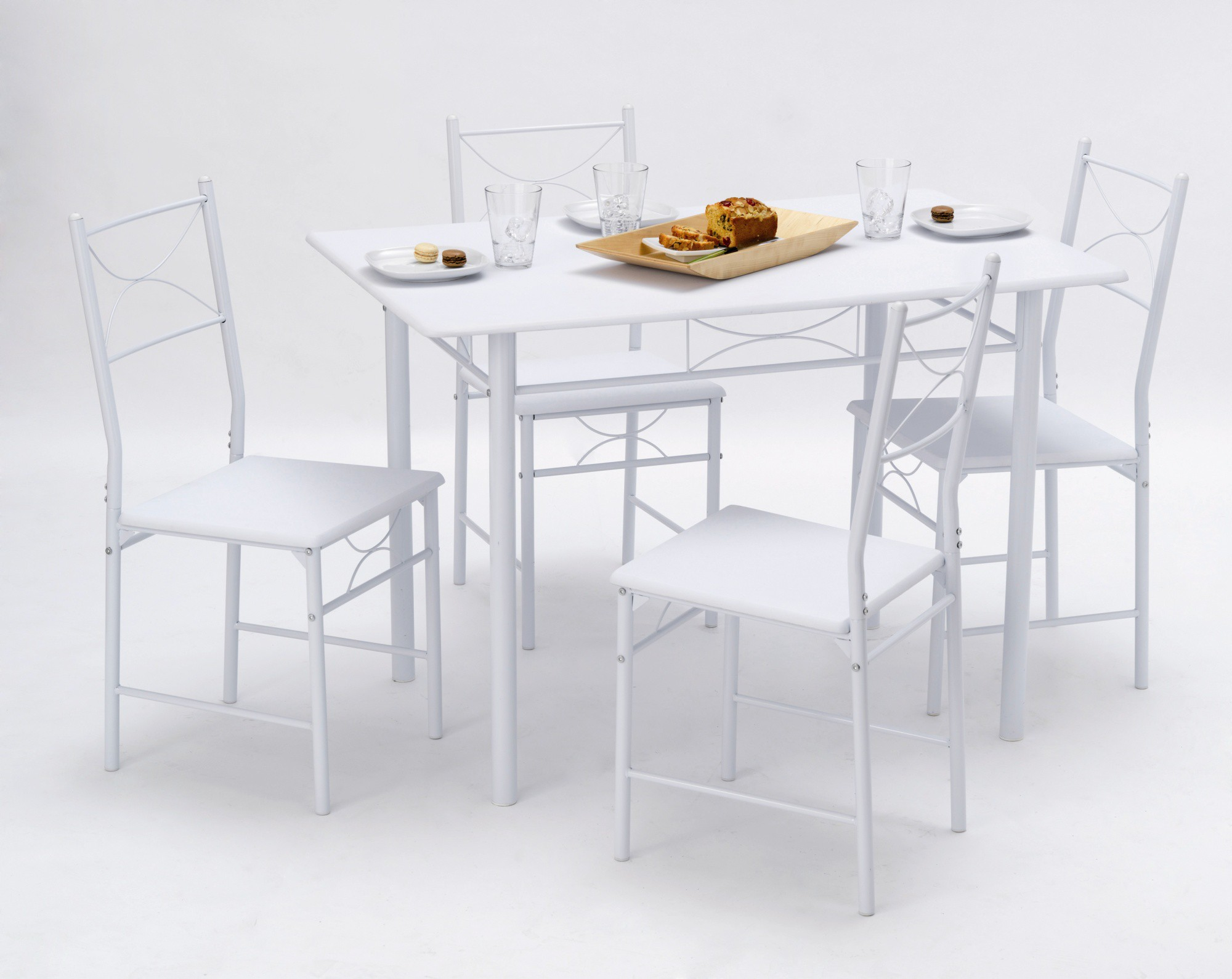 Table et chaise de cuisine moderne le monde de l a for Table et chaise integree
