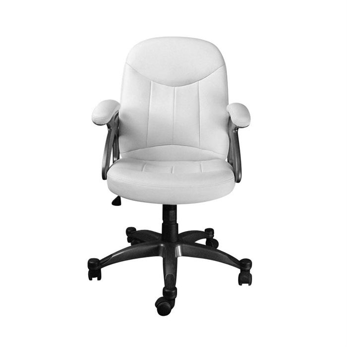 chaise dactylo blanche le monde de l a. Black Bedroom Furniture Sets. Home Design Ideas
