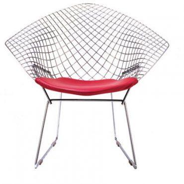 Chaise grillage design