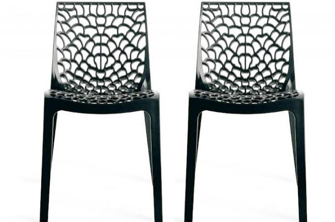 chaise originale pas cher le monde de l a. Black Bedroom Furniture Sets. Home Design Ideas