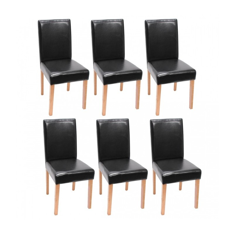 Chaises cuir salle a manger maison design for Chaise salle a manger zoe