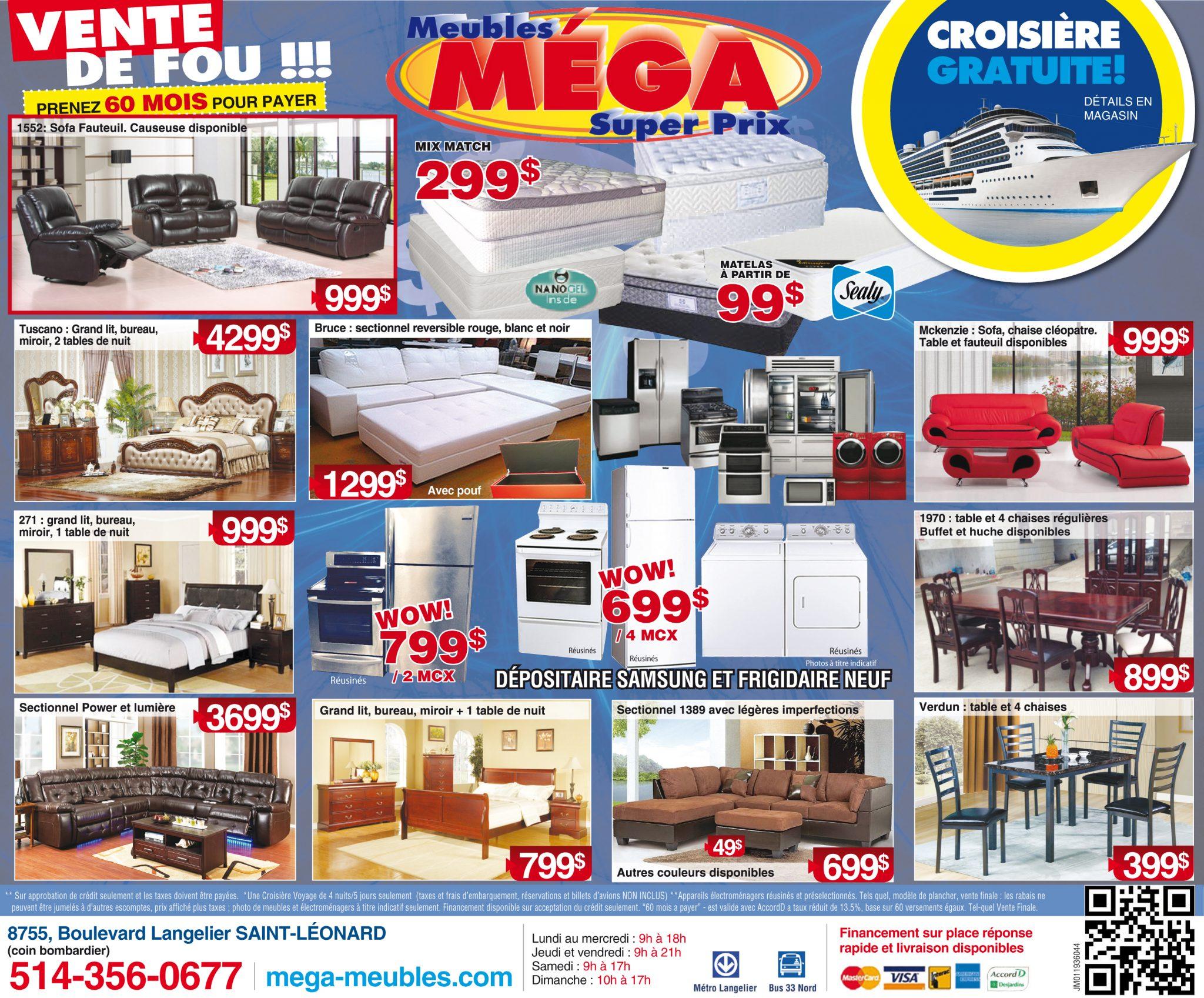 #B71421 Meuble Archives Page 2 Sur 2 Le Monde De Léa 3891 salle a manger pas cher montreal 2048x1697 px @ aertt.com