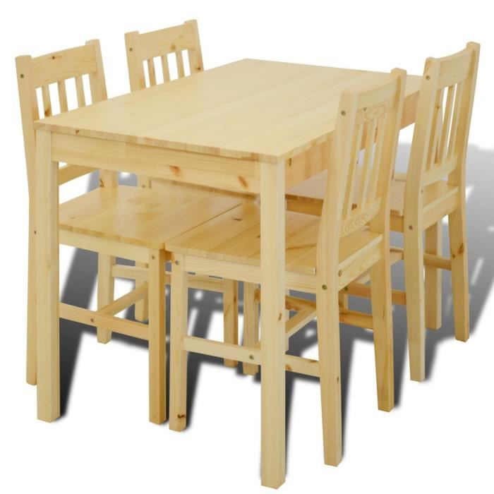 Table chaises salle manger le monde de l a - Table salle a manger avec chaise ...