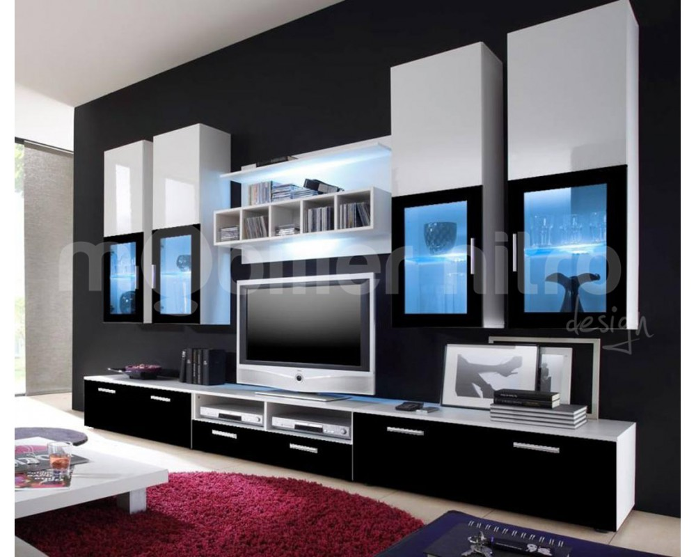 meuble pour salon moderne le monde de l a. Black Bedroom Furniture Sets. Home Design Ideas