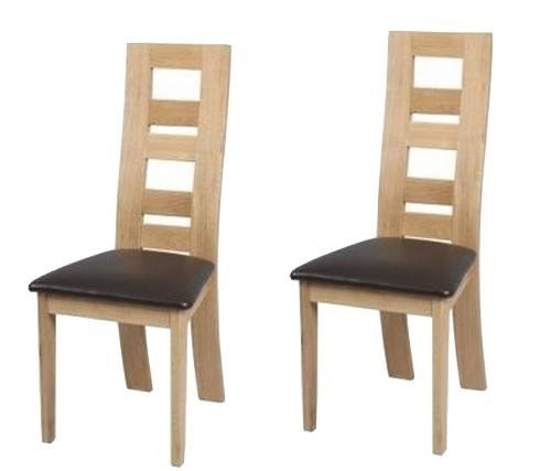 Chaise salle a manger en bois le monde de l a for Salle a manger de luxe en bois