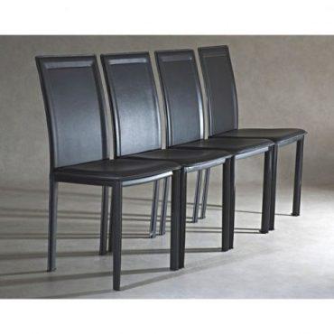 Chaise salle a manger metal