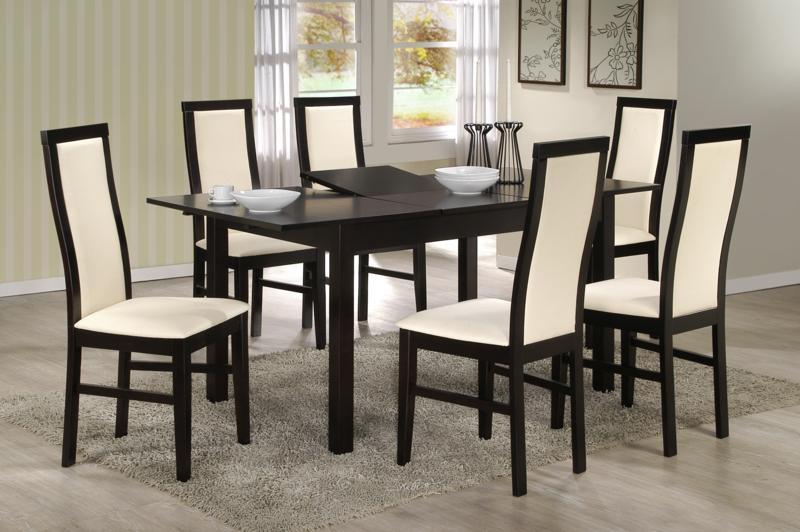 chaises contemporaines salle manger le monde de l a. Black Bedroom Furniture Sets. Home Design Ideas