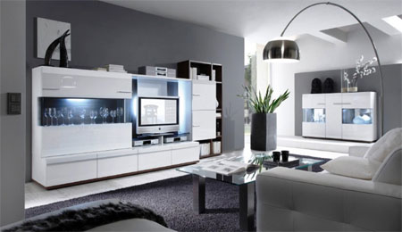 meuble de salon design le monde de l a. Black Bedroom Furniture Sets. Home Design Ideas