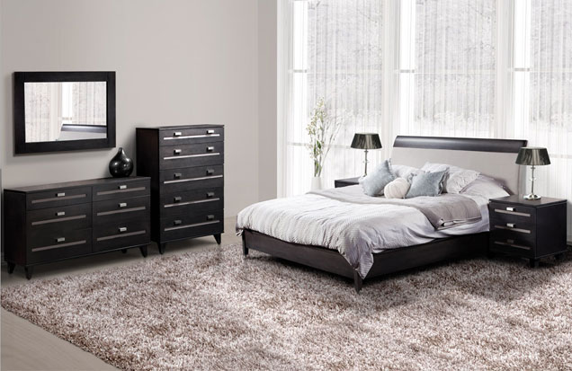 meuble de chambre moderne le monde de l a. Black Bedroom Furniture Sets. Home Design Ideas