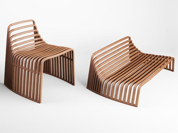 fauteuil design bois le monde de l a. Black Bedroom Furniture Sets. Home Design Ideas