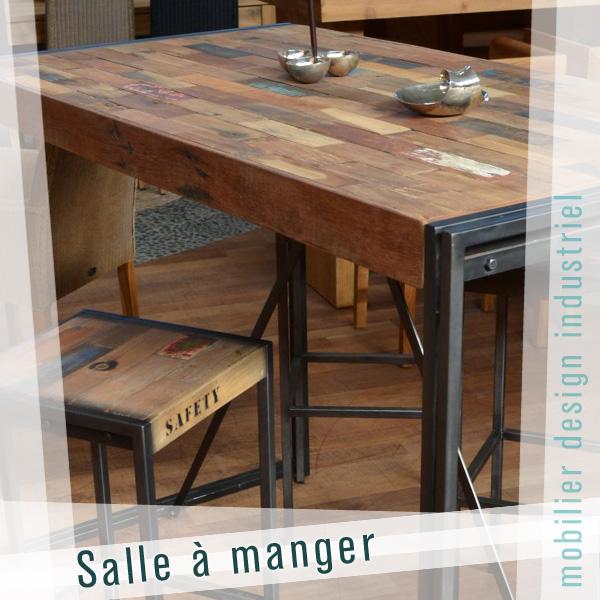 mobilier industriel le monde de l a. Black Bedroom Furniture Sets. Home Design Ideas