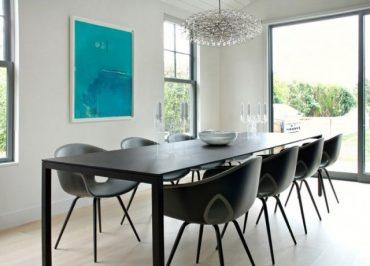 Chaises design de salle à manger